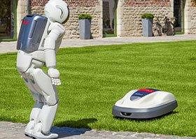 Robotmaaiers Honda   A&B Hoyweghen Bazel