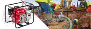 Waterpompen Honda3   A&B Hoyweghen Bazel